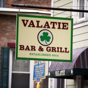 Valatie Bar And Grill Sign